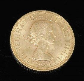 1 Sovereign Großbritannien, 1958. 916er Gg. G