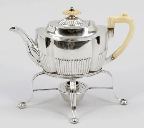 Teekanne Auf Rechaud Harrison & Howson/sheffi