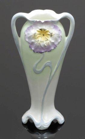 Jugendstil-vase 'tulpe' Feinsteingutfabrik Ma