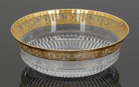 Schale 'thistle Gold' Verreries & Cristalleri