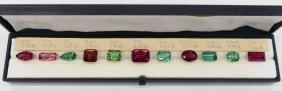 Collection of Semi Precious Gemstones. Includes eleven
