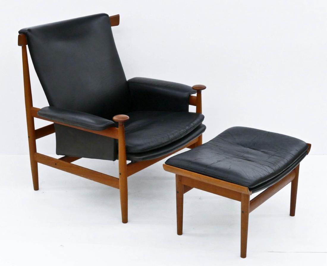 Finn Juhl for France & Son Denmark ''Bwana'' Chair &