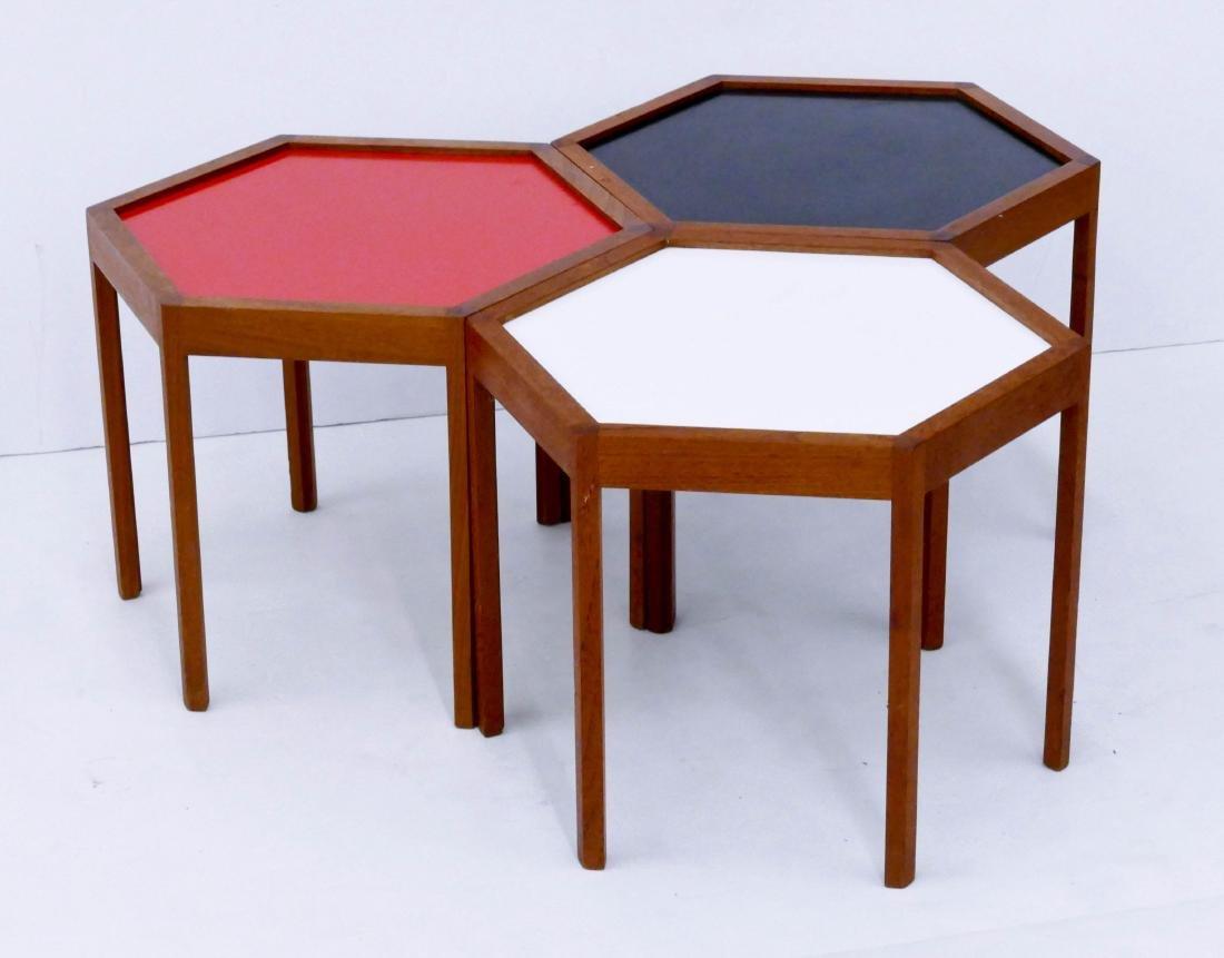 Set Hans Andersen for Artek Denmark Occasional Tables - 2