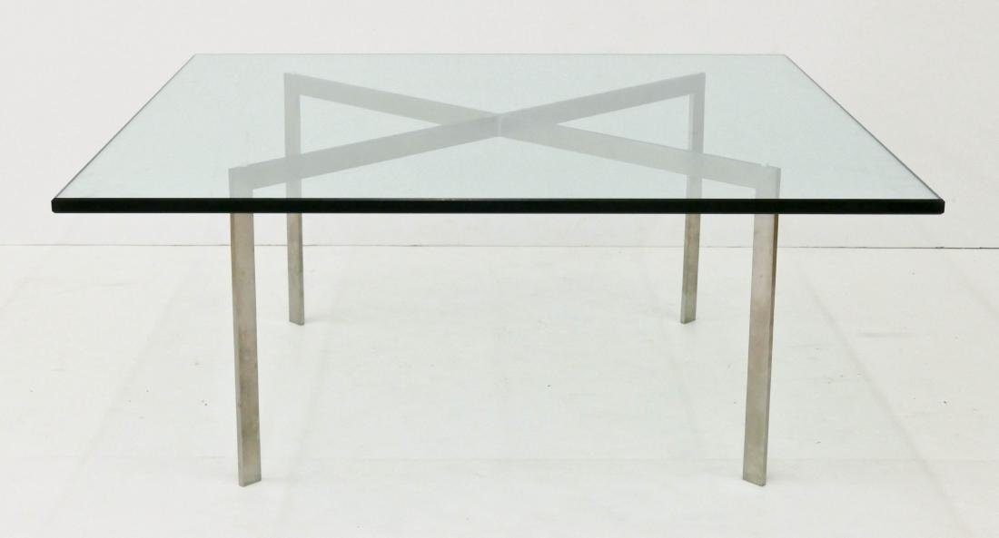 Mies Van Der Rohe for Knoll ''Barcelona'' Table