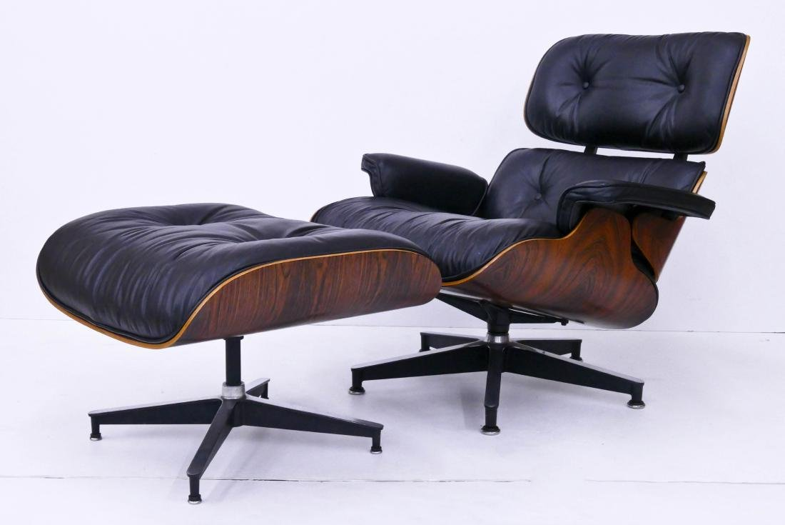 Eames for Herman Miller Lounge Chair & Ottoman. Classic