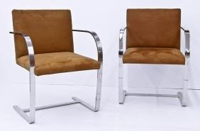Set Mies Van Der Rohe ''Brno'' Style Chairs