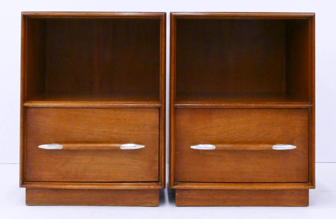 Pair T.H. Robsjohn-Gibbings for Widdicomb Night Stands