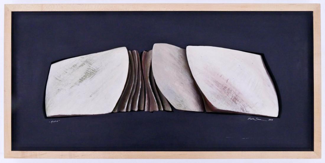 Maria Simon (20th Cent. Oregon) ''Hiatus'' 1999 Ceramic