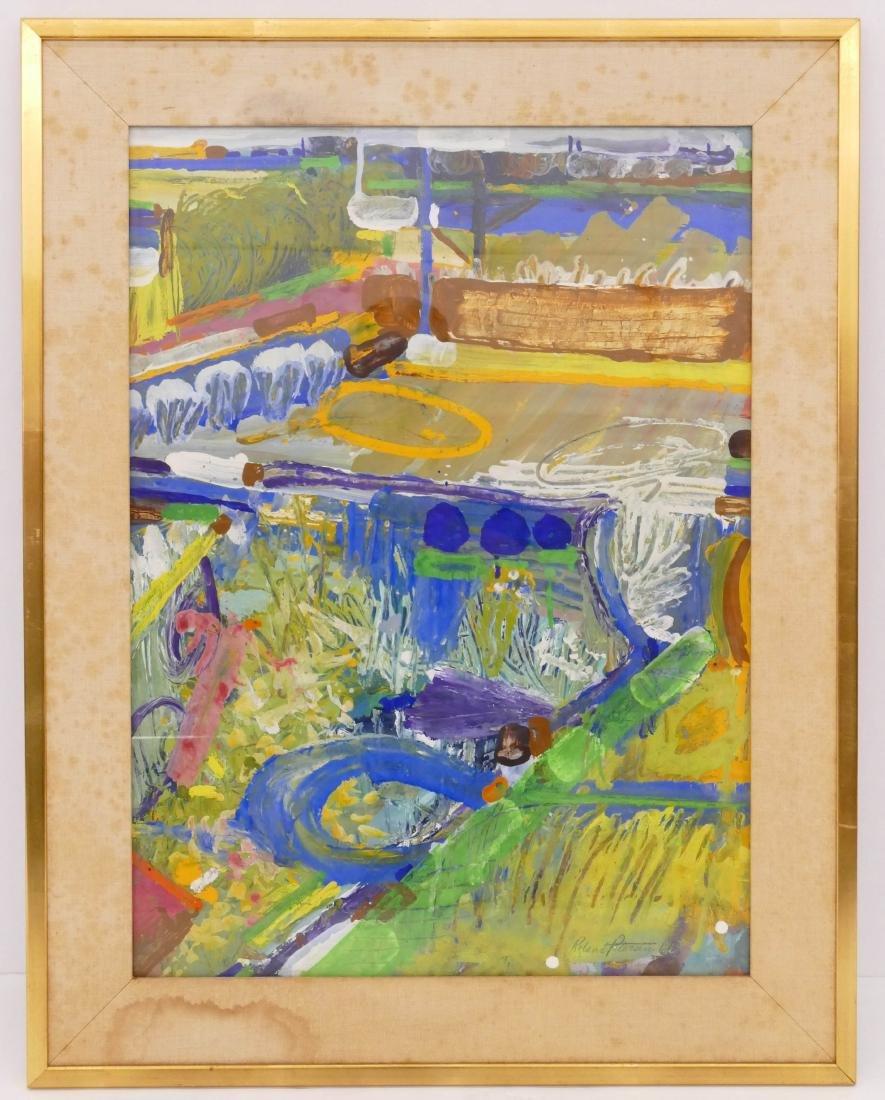 Roland Petersen (b.1926 California) ''Fields of Play'' - 2