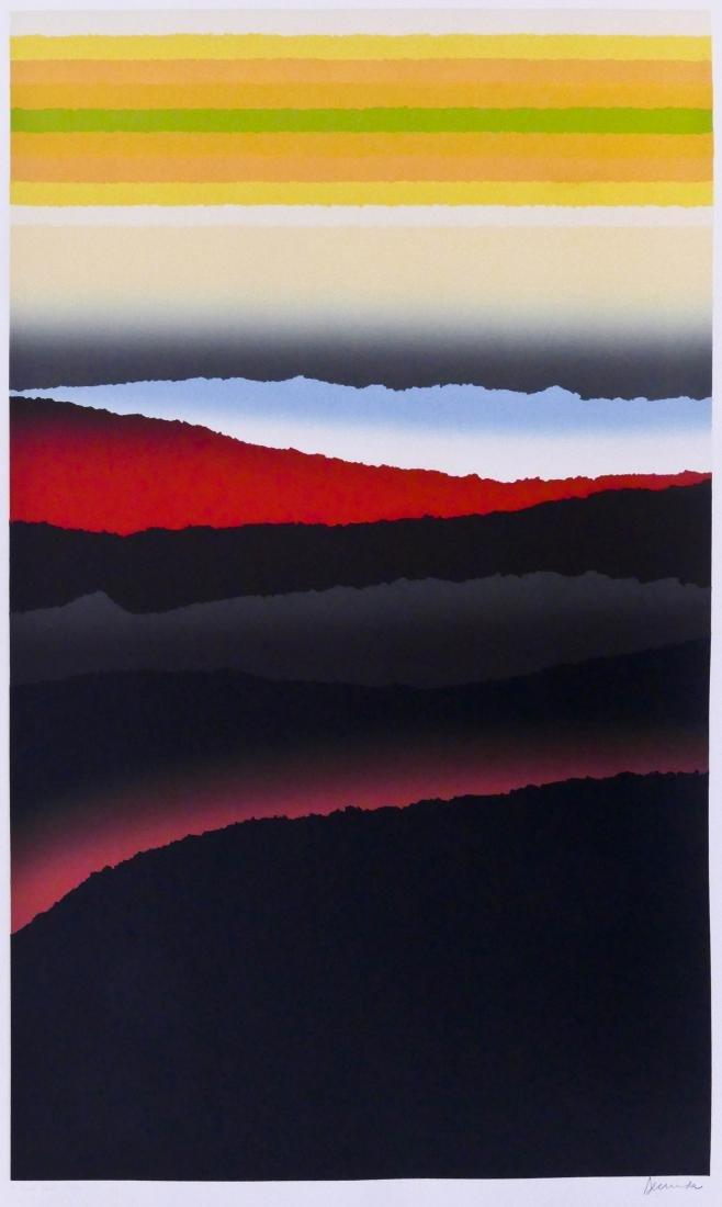 Arthur Secunda (b.1927 American) ''A Clear Space'' 1981