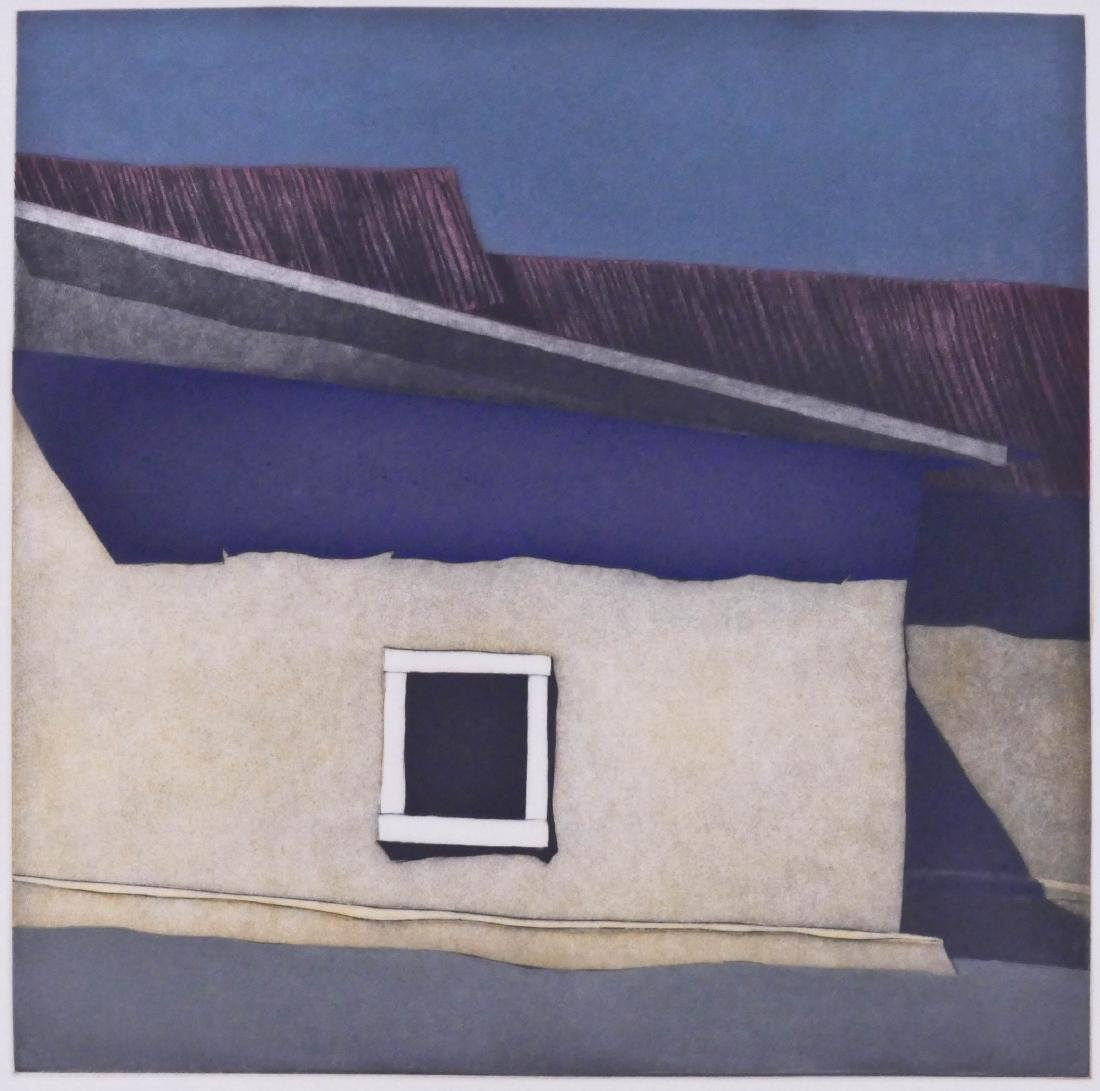 Harold Waldrum (1934-2003 New Mexico) ''Las Sombras Del