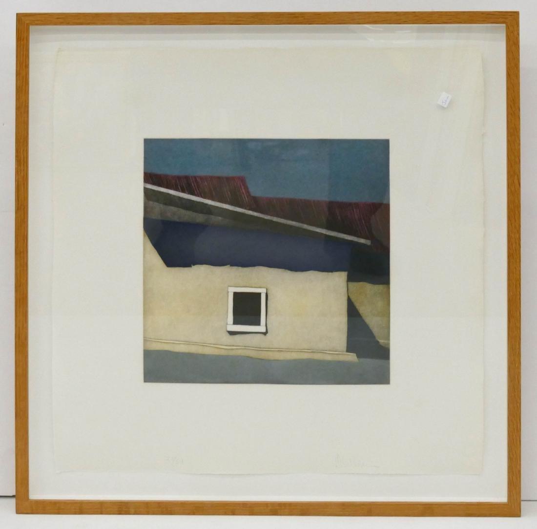 Harold Waldrum (1934-2003 New Mexico) ''Las Sombras Del - 2