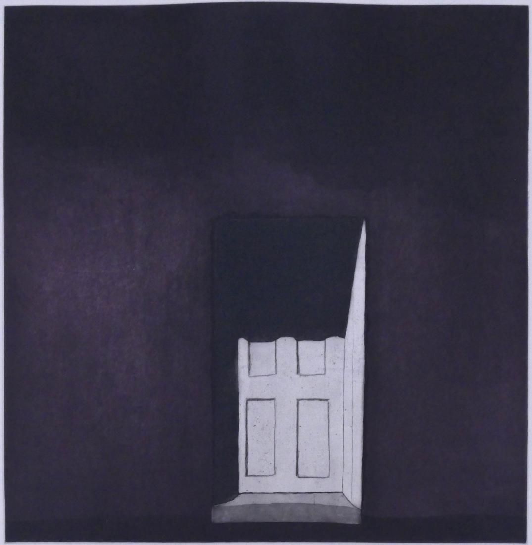 Harold Waldrum (1934-2003 New Mexico) ''La Sombra en la
