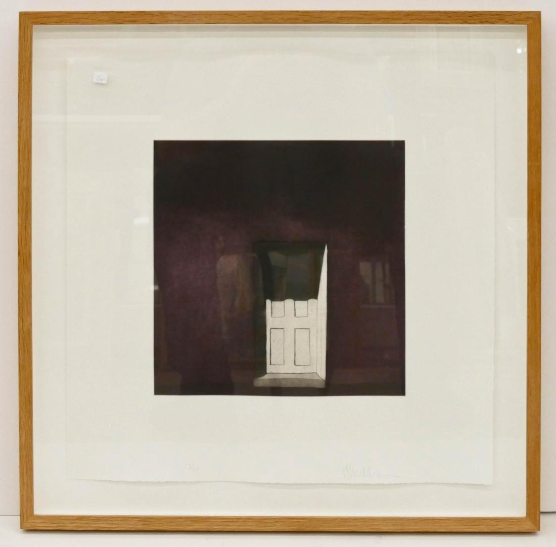 Harold Waldrum (1934-2003 New Mexico) ''La Sombra en la - 2