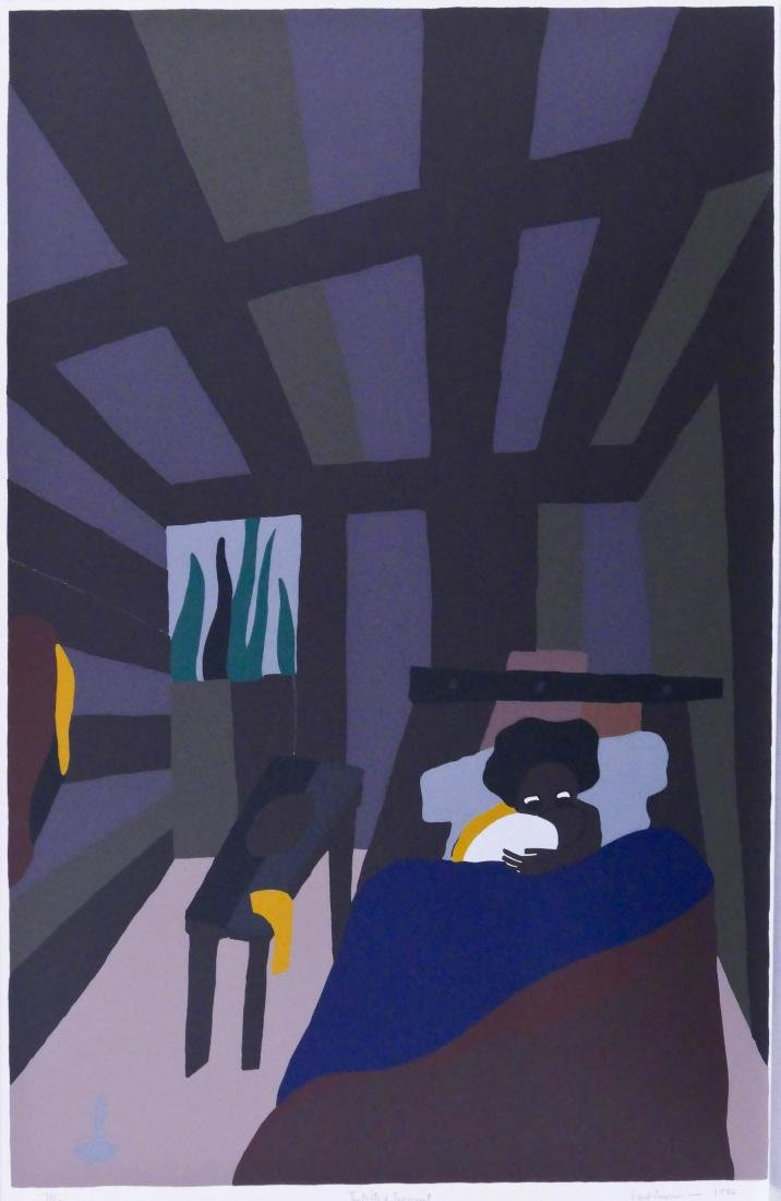 Jacob Lawrence (1917-2000 Washington) ''The Birth of