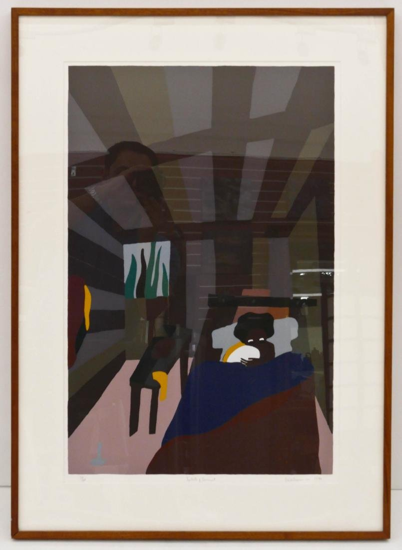 Jacob Lawrence (1917-2000 Washington) ''The Birth of - 4