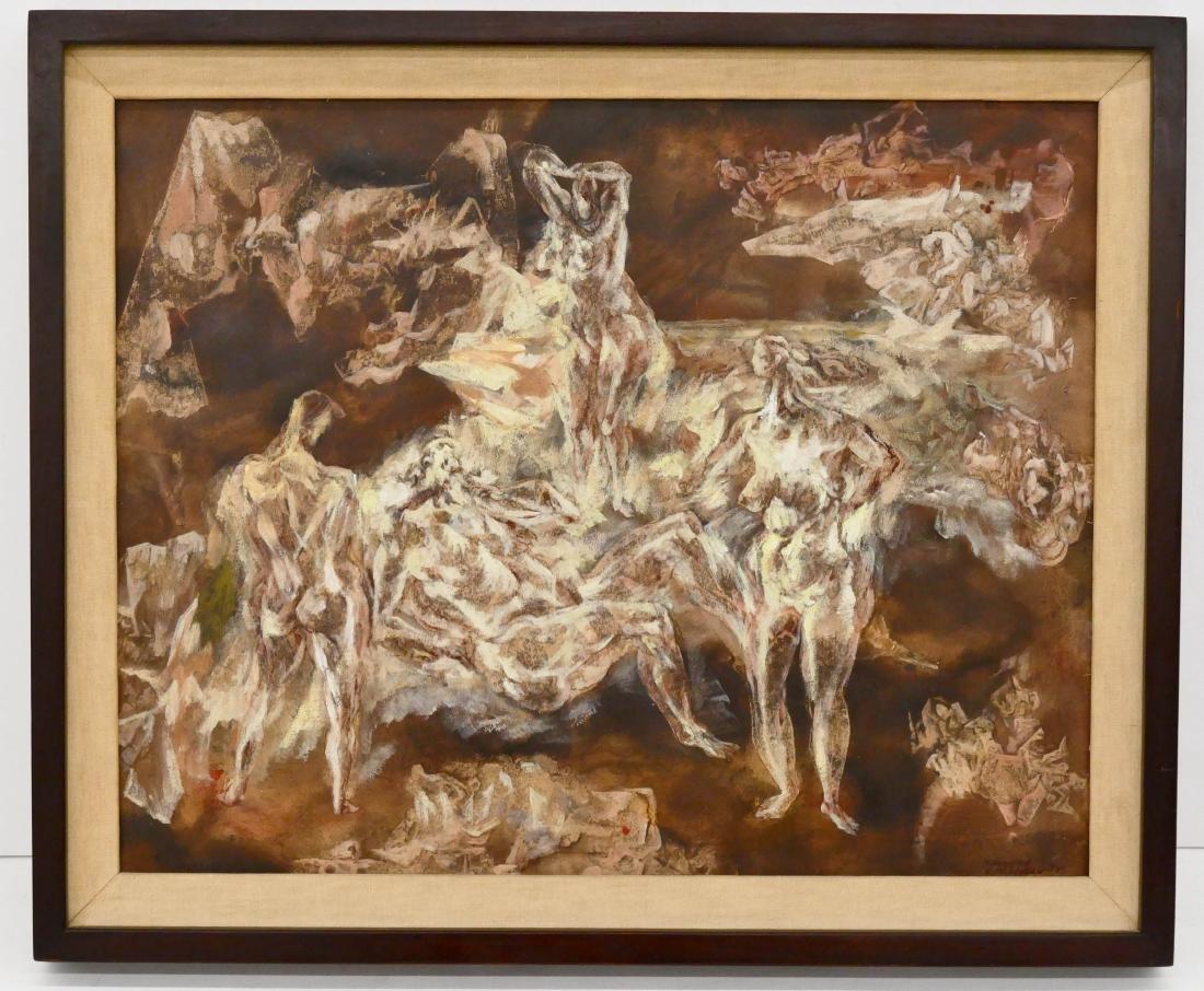 Kenneth Callahan (1905-1986 Washington) ''Judgment of - 2