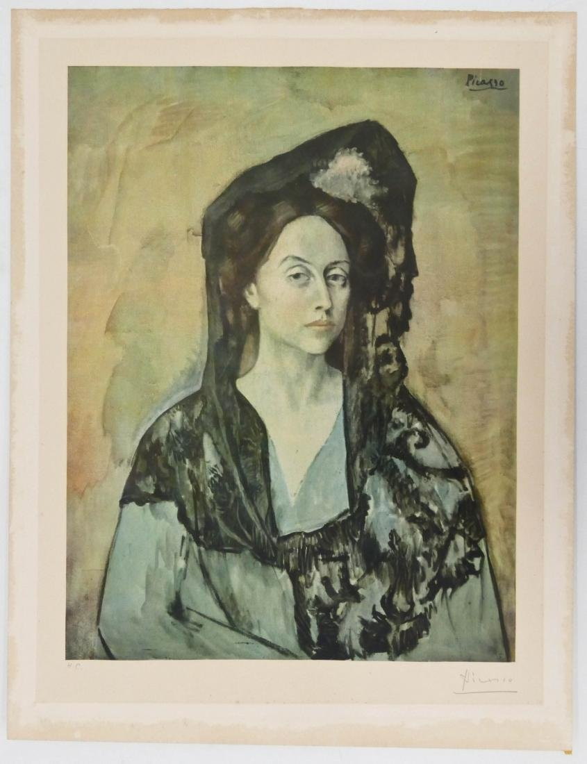 Pablo Picasso (1881-1973 Spanish) ''Madame Ricardo - 4