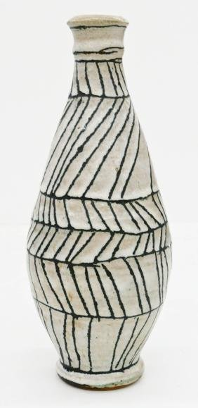 Robert Sperry (1927-1998 Washington) Decorated Vase