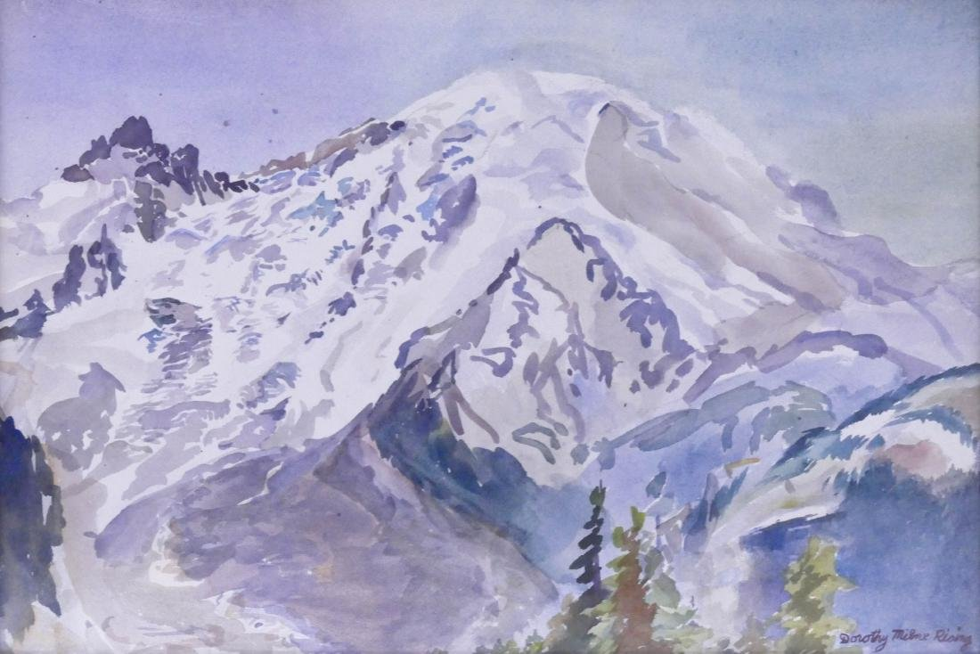 Dorothy Milne Rising (1895-1992 Washington) Mount