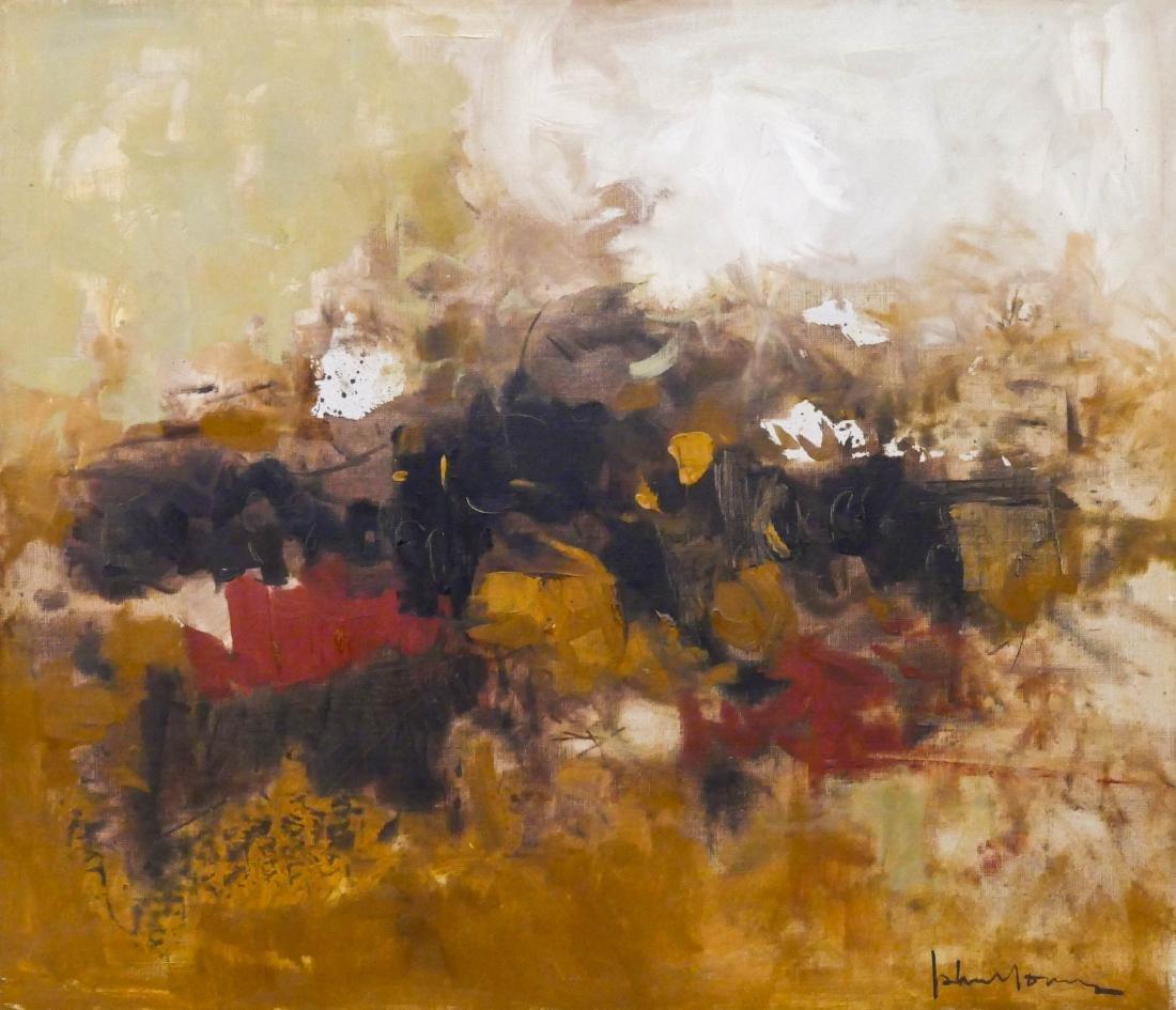 John Young (1909-1997 California) ''Millet'' 1963 Oil