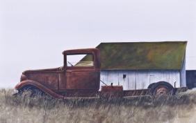 Anthony Turpin (b.1938 Washington) Old Truck in