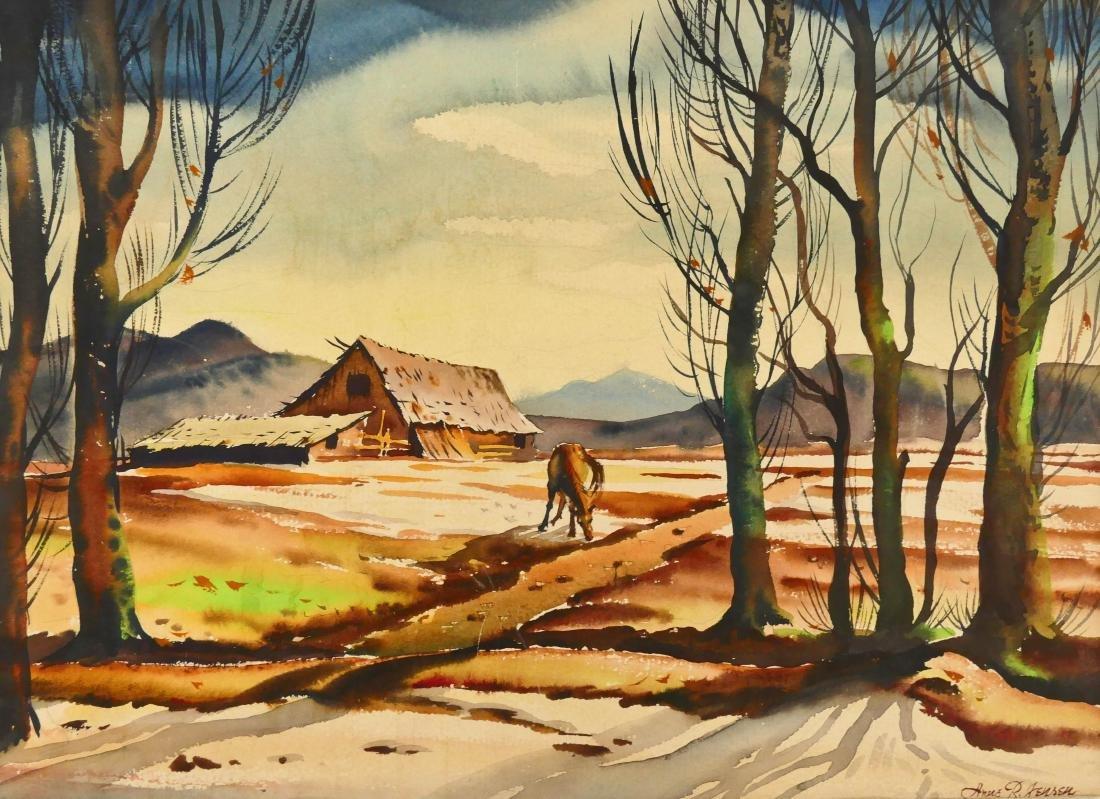 Arne Jensen (1906-1993 Washington) Northwest Landscape