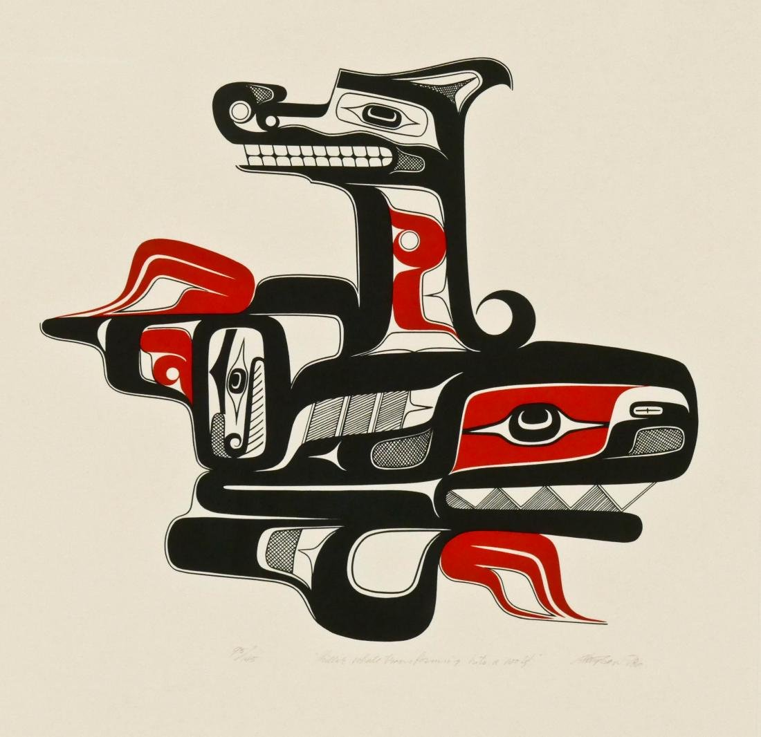 Art Thompson ''Killer Whale Transforming into a Wolf''