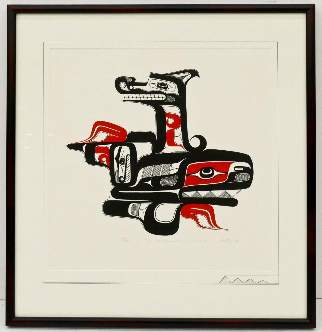 Art Thompson ''Killer Whale Transforming into a Wolf'' - 2