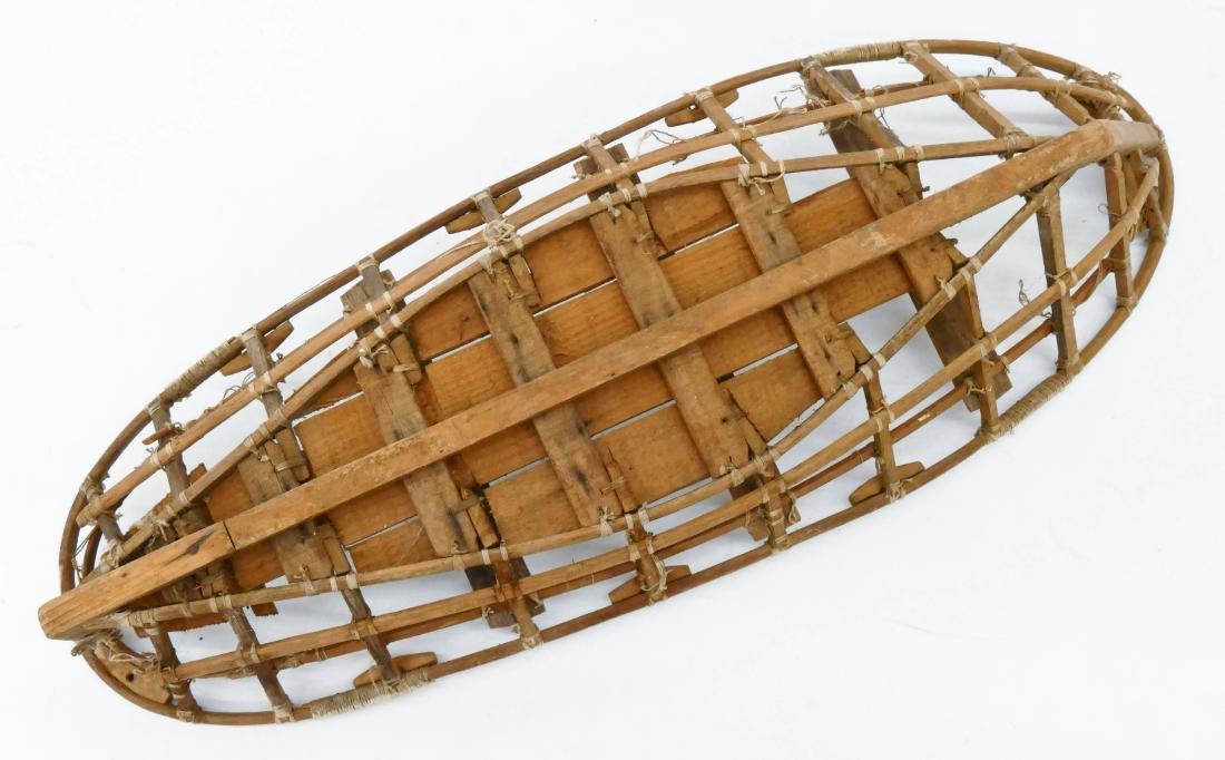 Old Unangax Eskimo Nigaalax Canoe Boat Model - 3