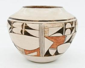 Fawn Navasie (1920-1992 Hopi) Polychrome Decorated