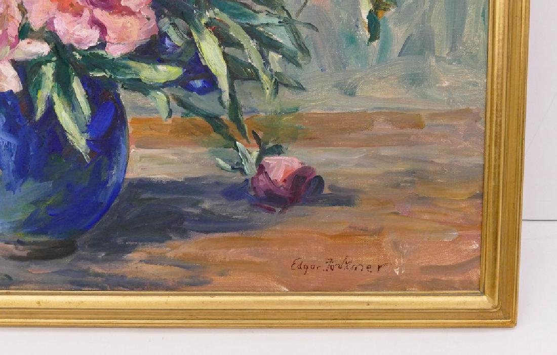 Edgar Forkner (1867-1945 Washington) Roses Still Life - 2