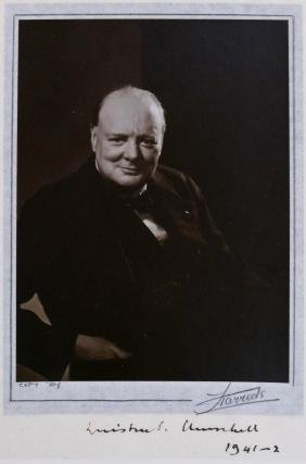 1941 Winston Churchill British Prime Minister