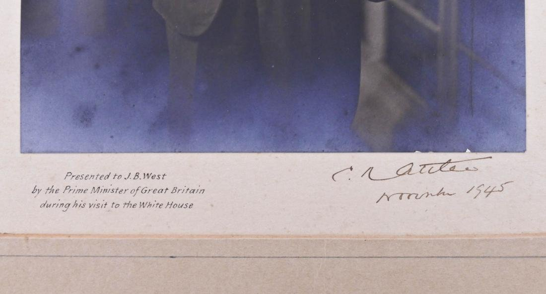 1945 Clement Attlee British Prime Minister Autographed - 2