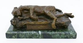 Armand Quenard (1865-1925 French) ''La Mort de