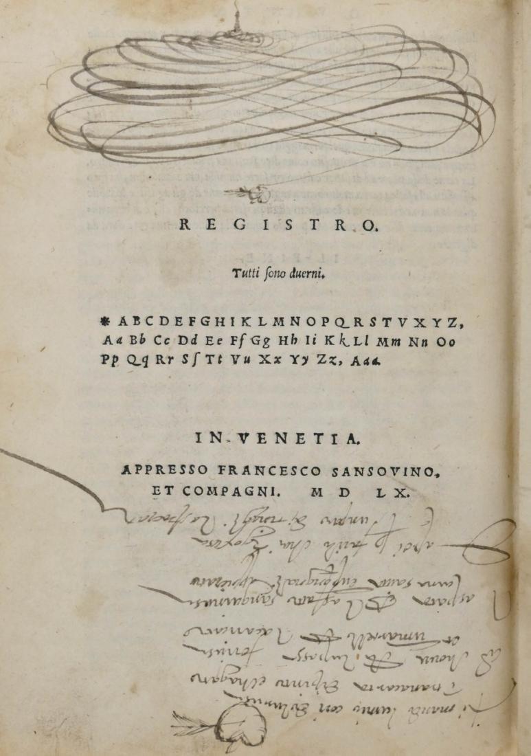 Francesco Sansovino 1560 ''Della Agricultura di Giovann - 2