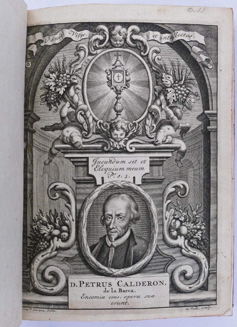 Pedro Calderon de la Barca 1717 ''Sacramentales, Alegor - 3