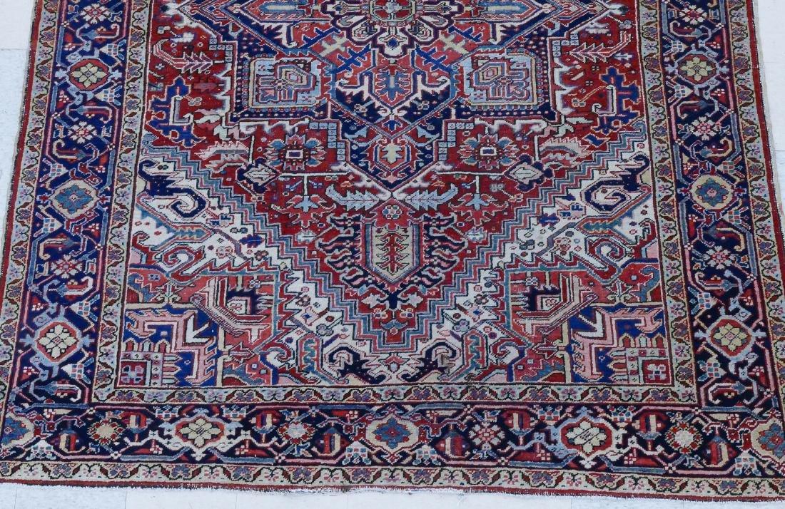 Semi Antique Heriz Persian Oriental Rug 8'x10'. - 2