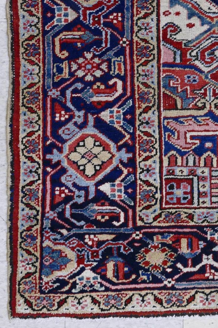 Semi Antique Heriz Persian Oriental Rug 8'x10'. - 3