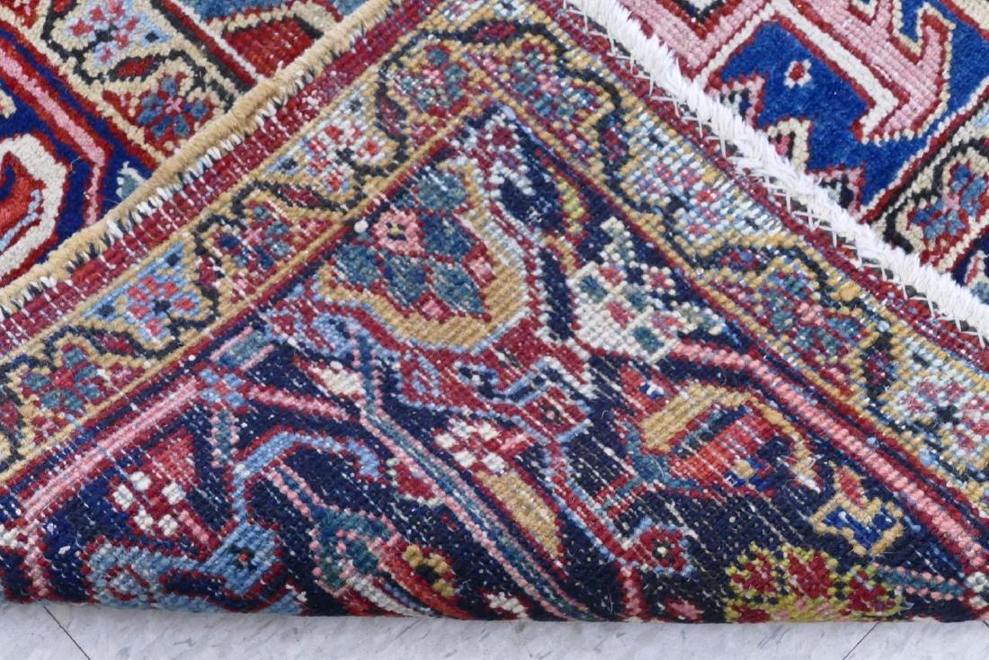 Semi Antique Heriz Persian Oriental Rug 8'x10'. - 4