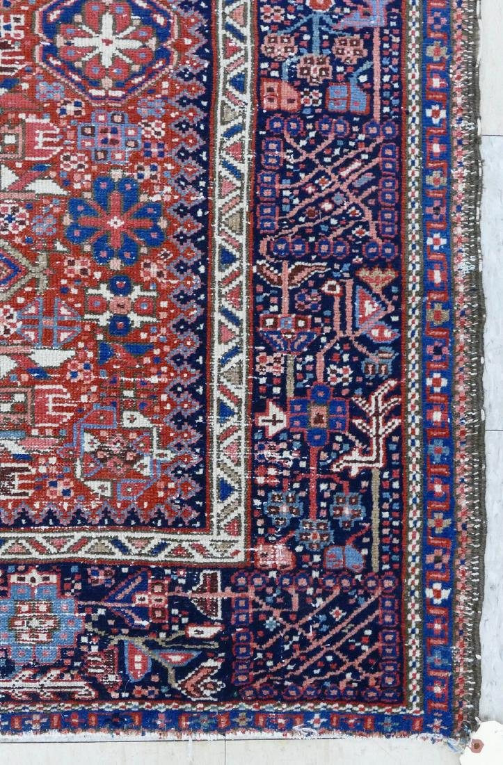 Antique Karaja Persian Oriental Scatter Rug - 2