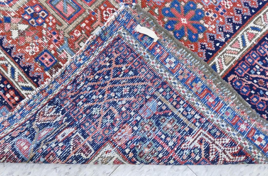 Antique Karaja Persian Oriental Scatter Rug - 3