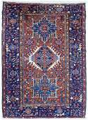 Semi Antique Karaja Persian Oriental Rug 4'8''x6'6''.