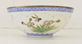 Chinese Jingdezhen Eggshell Porcelain bowl