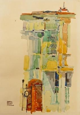 Ibarra de la Rosa (1943-1997 Philippines) Two City
