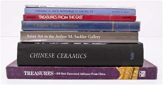 7pc Books on Chinese Porcelain Includes Treasures