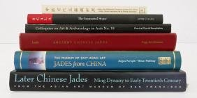 6pc Books on Chinese Jade. Includes Later Chinese