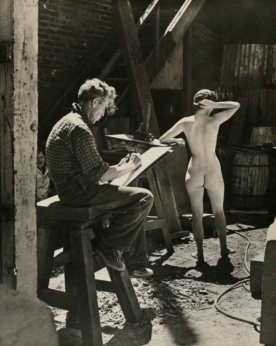 Peter Stackpole (1913-1997 California) Ralph Stackpole