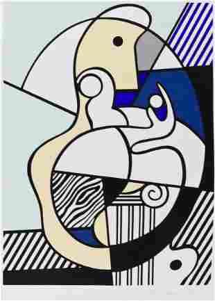 Roy Lichtenstein (1923-1997 New York) ''Homage to Max