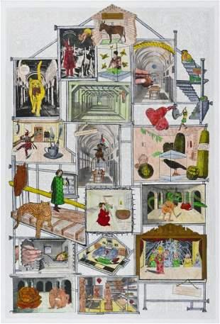 Jane Hammond (b.1950 New York) ''Love Laughs'' 2005